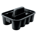 Rubbermaid RCP315488BLA Deluxe Carry Caddy, 8-Comp, 15w X 7 2/5h, Black