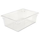 Rubbermaid RCP3300CLE Food/tote Boxes, 12 1/2gal, 26w X 18d X 9h, Clear