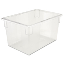 Rubbermaid RCP3301CLE Food/tote Boxes, 21 1/2gal, 26w X 18d X 15h, Clear