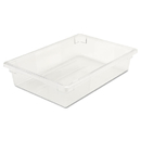 Rubbermaid RCP3308CLE Food/tote Boxes, 8 1/2gal, 26w X 18d X 6h, Clear