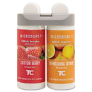Rubbermaid RCP3485952 Microburst Duet Refills, Cotton Berry/refreshing Citrus, 3oz, 4/carton