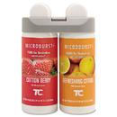 Rubbermaid RCP3485952 Microburst Duet Refills, Cotton Berry/refreshing Citrus, 3oz, 4/carton