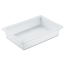 Rubbermaid RCP3508WHI Food/tote Boxes, 8.5gal, 26w X 18d X 6h, White