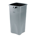 Rubbermaid RCP356988GY Untouchable Square Container, 23gal, Gray