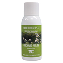 Rubbermaid FG4012561 Microburst 3000 Refill, Orchard Fields, 2 oz Aerosol, 12/Carton