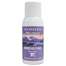 Rubbermaid FG4012571 Microburst 3000 Refill, Mountain Peaks, 2oz, Aerosol, 12/Carton