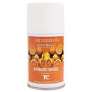 Rubbermaid FG402093 Microburst 9000 Air Freshener Refill, Mandarin Orange, 5.3oz, Aerosol, 4/Carton