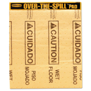 Rubbermaid RCP4254 Over-The-Spill Pad Tablet W/25 Medium Spill Pads