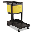Rubbermaid RCP6181YEL Locking Cabinet, For Rubbermaid Commercial Cleaning Carts, Yellow