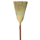 Rubbermaid RCP6383 Warehouse Corn-Fill Broom, 38-In Handle, Blue