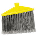 Rubbermaid Commercial HYGEN FG639700GRAY Replacement Broom Head, 10 1/2