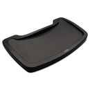 Rubbermaid FG781588DGRN Sturdy Chair Microban Youth Seat Tray, Plastic, Dark Green, 18.5 x 11.5 x 3.25