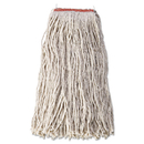 Rubbermaid RCPF51812WHI Cotton/synthetic Cut-End Blend Mop Head, 24oz, 1