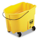 Rubbermaid 2064914 WaveBrake 2.0 Bucket, 8.75 gal, Plastic, Yellow