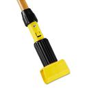 Rubbermaid RCPH216 Gripper Hardwood Mop Handle, 1 1/8 Dia X 60, Natural/yellow