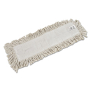 Rubbermaid FGL25300WH00 Cut-End Blended Dust Mop Heads, Cotton, 24