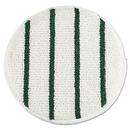 Rubbermaid FGP26900WH00 Low Profile Scrub-Strip Carpet Bonnet, 19