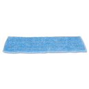 Rubbermaid RCPQ409BLUCT Economy Wet Mopping Pad, Microfiber, 18