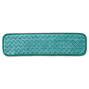 Rubbermaid RCPQ412GRE Microfiber Dust Pad, 18 1/2 X 5 1/2, Green, 12/carton