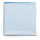 Rubbermaid RCPQ630 Reusable Cleaning Cloths, Microfiber, 16 X 16, Blue, 12/carton