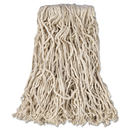 Rubbermaid RCPV116 Economy Cut-End Cotton Wet Mop Head, 16oz, 1