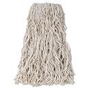 Rubbermaid RCPV118 Economy Cut-End Cotton Wet Mop Head, 24oz, 1