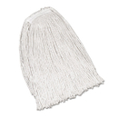 Rubbermaid FGV11900WH00 Economy Cotton Mop Heads, Cut-End, Ctn, WH, 32 oz, 1-in. White Headband, 12/CT