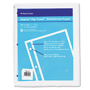 REDIFORM OFFICE PRODUCTS RED20121 Rip Proof 20-Lb, Reinforced Filler Paper, Unruled, 11 X 8-1/2, We, 100 Sheets/pk