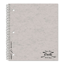 Rediform RED31987 Subject Wirebound Notebook, College/margin Rule, 11 X 8 7/8, White, 80 Sheets
