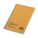 Rediform RED33002 Subject Wirebound Notebook, Narrow Rule, 5 X 7 3/4, Green, 80 Sheets