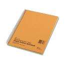 Rediform RED33008 Subject Wirebound Notebook, Narrow/margin Rule, 8 X 10, Green, 80 Sheets