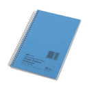 Rediform RED33502 Subject Wirebound Notebook, College Rule, 5 X 7 3/4, White, 80 Sheets