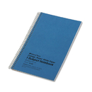 Rediform RED33560 Subject Wirebound Notebook, College Rule, 6 X 9 1/2, White, 80 Sheets
