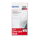 REDIFORM OFFICE PRODUCTS RED4K402 Employee Time Card, Semi-Monthly, 4-1/4 X 8, 100/pad