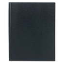 REDIFORM OFFICE PRODUCTS REDA1082 Large Executive Notebook, College/margin, 10 3/4 X 8 1/2, Blue Cover, 75 Sheets