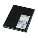 REDIFORM OFFICE PRODUCTS REDA29C81 Notepro Undated Daily Planner, 9-1/4 X 7-1/4, Black