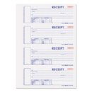 Rediform REDS1654NCR Hardcover Numbered Money Receipt Book, 2 3/4 X 6-7/8, Two-Part, 300 Forms