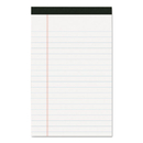 Roaring Spring ROA24316 Usda Certified Bio-Preferred Legal Pad, Ruled, 5 X 8, 40 Sheets, White, 12/pack