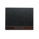ELDON OFFICE PRODUCTS ROL23390 Wood Tone Desk Pad, Mahogany, 24 X 19