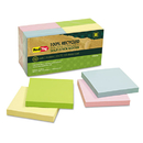 REDI-TAG CORPORATION RTG26704 100% Recycled Notes, 3 X 3, Four Colors, 12 100-Sheet Pads/pack