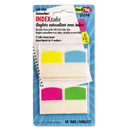 REDI-TAG CORPORATION RTG33148 Write-On Self-Stick Index Tabs, 1 1/16 Inch, 4 Colors, 48/pack
