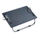 SAFCO PRODUCTS SAF2106 Ergo-Comfort Adjustable Footrest, 18-1/2w X 11-1/2d X 8h, Black