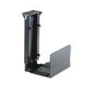 SAFCO PRODUCTS SAF2176 Ergo-Comfort Fixed-Mount Under Desk Cpu Holder, 7w X 9-1/2d X 14h, Black