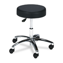 SAFCO PRODUCTS SAF3431BL Pneumatic Lift Height-Adjustable Lab Stools, 17-22, Black