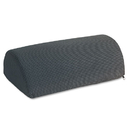 SAFCO PRODUCTS SAF92311 Half-Cylinder Padded Foot Cushion, 17-1/2w X 11-1/2d X 6-1/4h, Black