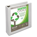 SAMSILL CORPORATION SAM16967 Earth's Choice Biobased + Biodegradable D-Ring View Binder, 2