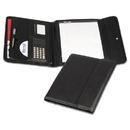 SAMSILL CORPORATION SAM70890 Professional Tri-Fold Padfolio W/calculator, Writing Pad, Vinyl, Black