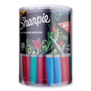 Sharpie 2041312 Metallic Fine Point Permanent Markers, Bullet Tip, Assorted, 36/Pack