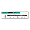 SANFORD INK COMPANY SAN2262 Turquoise Drawing Pencil, Hb, 1.98 Mm, Dozen
