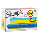 SANFORD INK COMPANY SAN25010 Accent Tank Style Highlighter, Chisel Tip, Blue, Dozen
